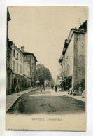 01 THOISSEY Anim Grande Rue Du Bourg 1900- Dos Non Divisé     /D19-2017 - Altri Comuni