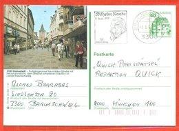 INTERI POSTALI - GERMANIA- DEUTSCHLAND-POST GANZ-POSTKARTE - HELMSTEDT - Private Postcards - Used