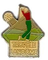 GOLF - G2 - TROPHEE LANCOME - GOLFEUR - Verso : SM - Golf