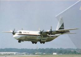 DAL -Delta Airlines Lockheed L-100-20 Hercules N9259R Aereo At DAL Airplane - 1946-....: Era Moderna