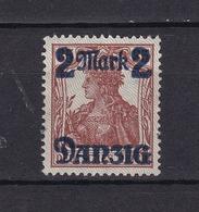 Danzig - 1920 - Michel Nr. 28 II - 250 Euro - Dantzig
