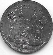*notgeld Hof 10 Pfenng 1918 Zn  6472.2 / F217.2a - [ 2] 1871-1918 : Impero Tedesco