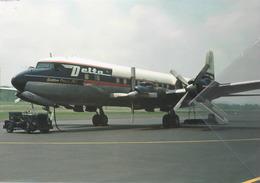 DAL - Delta Airlines Douglas DC7 N4873C Airplane At AVL Aereo - 1946-....: Era Moderna