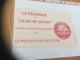 """Buvard """"LE FROMAGE DE LA VACHE QUI RIT"""" - Produits Laitiers"""