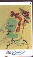 Télécarte Japon * SCABAL * LONDON * BRUXELLES * MODE * PEINTURE FRANCE * ART (2356)  Japan * Phonecard * KUNST TK - Malerei