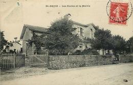 HAUTE VIENNE  SAINT BRICE Les écoles Et La Mairie - France