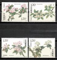 China 2018 / Flowers MNH Flores Blumen Fleurs / Cu10333  37-30 - Vegetales