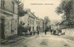 CREUSE  FURSAC   Grande Rue - France
