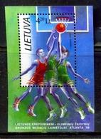 Lithuania Lituania / Olympic Games Atlanta Basketball 1996 Juegos Olímpicos Baloncesto / Hg24  37-32 - Verano 1996: Atlanta