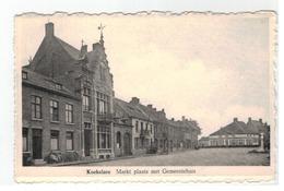 Koekelare  Markt Plaats Met Gemeentehuis - Koekelare