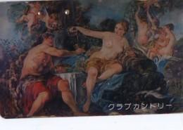 Télécarte Japon *  EROTIQUE * PEINTURE FRANCE * ART (2364)  Japan * Phonecard * KUNST TK - Peinture