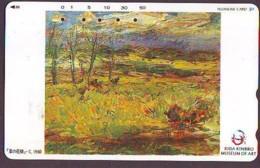 Télécarte Japon * 430-10670 * PEINTURE FRANCE * ART (2367)  Japan * Phonecard * KUNST TK - Peinture