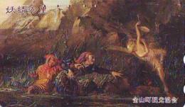 Télécarte Japon * 410-13745 * PEINTURE FRANCE * ART (2370)  Japan * Phonecard * KUNST TK - Peinture