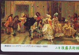 Télécarte Japon *  * PEINTURE FRANCE * ART (2371)  Japan * Phonecard * KUNST TK - Peinture
