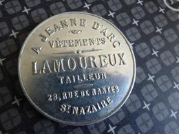 SAINT NAZAIRE GLACE LAMOUREUX - Publicité