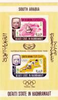 Quaiti State In Hadhramaut Hb Michel 3A - Emiratos Árabes Unidos