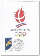 Frankrijk 2002, Postcard Unused, Olympic Winter Games Salt Lake City - Winter 2002: Salt Lake City