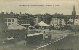 CANTAL  AURILLAC  Foire De La Saint Urbain  ( Cirque Fete Foraine ) - Aurillac