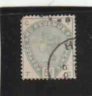 **** ANGLETERRE *** England ***  -  - N°  82  5 D Vert - Côte  200 € - 1840-1901 (Victoria)