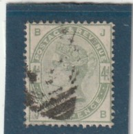 **** ANGLETERRE *** England ***  -  - Typographie -- N° 81  Côte 200€ - 1840-1901 (Victoria)