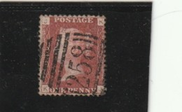 **** ANGLETERRE *** England ***  -  - N° 26 One Peny  - Rouge - 1840-1901 (Victoria)