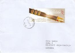 GOOD POLAND Postal Cover To ESTONIA 2019 - Good Stamped: Senate - 1944-.... Republic