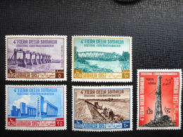 Italie / Somalie : 4e Fiera Della Somalia Reeks (1957) - Somalia