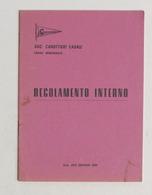 Sport Canottaggio - Società Canottieri Casale - Regolamento Interno - 1968 - Libros, Revistas, Cómics