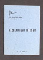 Sport Canottaggio - Società Canottieri Casale - Regolamento Interno - 1974 - Libros, Revistas, Cómics