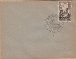 ENVELOPPE TIMBRE  1945 ORADOUR - ....-1949