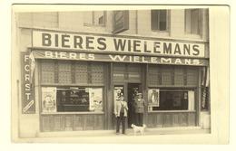 #21592[Postkaarten] Lot Van 12 Fotokaarten (café, Winkel, Villa, Moto, Nijverheid ...) - Cartes Postales