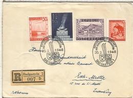 AUSTRIA BAD GASTEIN CC CERTIFICADA 1948 ESQUI SKI DEPORTE - Ski