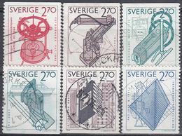 SUECIA 1984 Nº 1264/69 USADO - Suecia