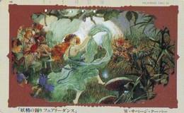 Télécarte Japon * 110--59013 * PEINTURE FRANCE * ART (2382)  Japan * Phonecard * KUNST TK - Peinture