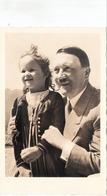 Propaganda Karte, A. HITLER Mit Kleinem Mädchen - Weltkrieg 1939-45