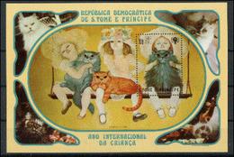 Saint Thomas 1981  IYC AIE Cat Chat  MNH - Sonstige