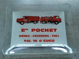 Cucq Ets POCHET Bieres Charbons Fuel - Verre
