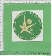 01254-A.C.-A.C.-O.S.-EXPO 58 - Obj. 'Souvenir De'