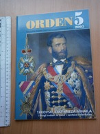 2005 Serbia Coin Numismatic Magazine Yugoslavia Medal Order Banknote Money ANTIQUE Order Of The Cross Of Takovo Uprising - Tijdschriften: Abonnementen