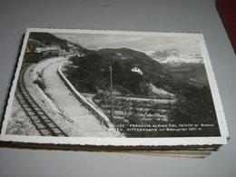 CARTOLINA FERROVIA ALPINA DEL RENON - Treni