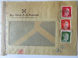 D.Reich Zensurbrief Bergbau Zeche Arnold Georg Neuwied 1943 (69614) - Deutschland