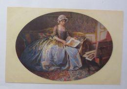 Frauen, Mode, Bilder, V. Schramm Kunstgenuss,  1905, Meissner & Buch  ♥ (69678) - Künstlerkarten