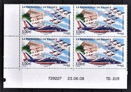 FRANCE 2008 - BLOC DE 4 TP / Y.T. N° 71 - NEUFS** COIN DE FEUILLE / DATE - Angoli Datati