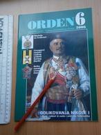 2006 Serbia Coin Numismatic Magazine Yugoslavia Medal Order Banknote Money ANTIQUE MONTENEGRO KING NIKOLA ST GEORGE - Revistas: Suscripción
