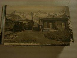 CARTOLINA ZERMATT - Eisenbahnen