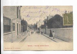 95 - SANNOIS - Rue Des Jardins Renard - Sannois