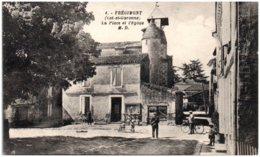 47 FREGIMONT - La Place Et L'église - Otros Municipios