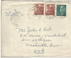 CC CON MAT AMBULANTE ANDALUCIA 12 SELLO VIRGEN DE AFRICA - 1931-Heute: 2. Rep. - ... Juan Carlos I