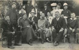 RARE PARIS EXPOSITION COLONIALE 1906 UN GROUPE DE COLONIAUX GRAND PALAIS DES CHAMPS ELYSEES - Distretto: 08