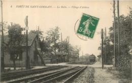 ACHERES FORET DE SAINT GERMAIN LA HALTE VILLAGE D'ACHERES - Acheres
